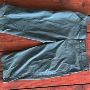 Columbia Saturday Trial Pants Capri Length Sz 12